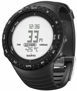 Suunto Core Regular Black rannetietokone