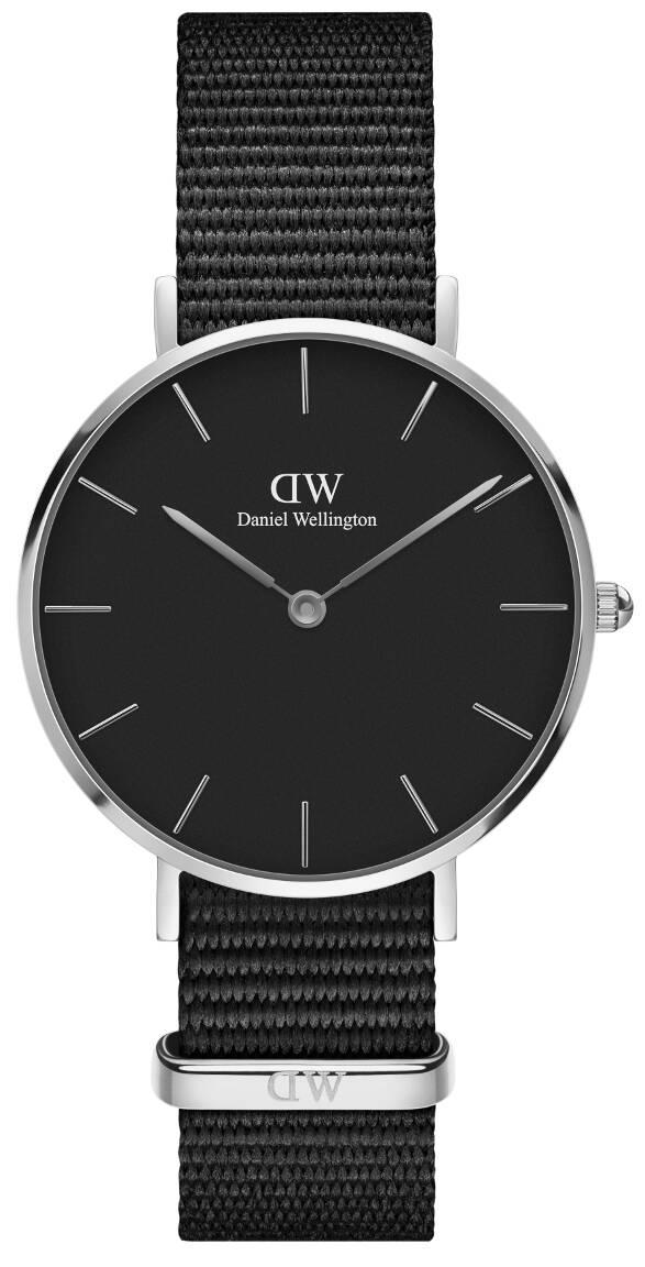 Daniel Wellington Petite Cornwall Silver Black 32mm DW00100216