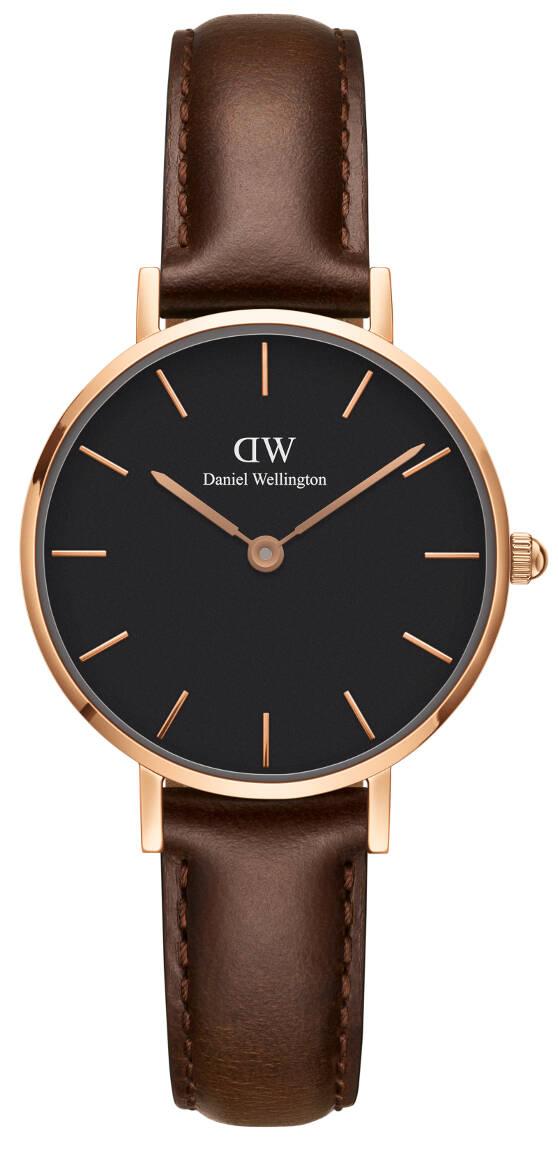 Daniel Wellington Classic Petite Bristol Rose Black 28mm DW00100221
