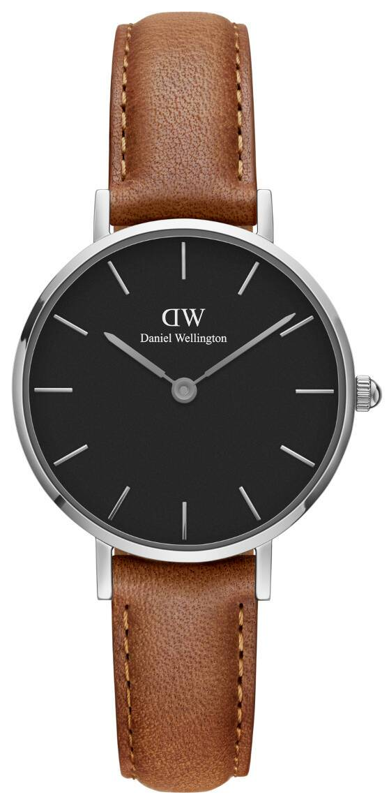 Daniel Wellington Classic Petite Durham Silver Black 28mm DW00100234