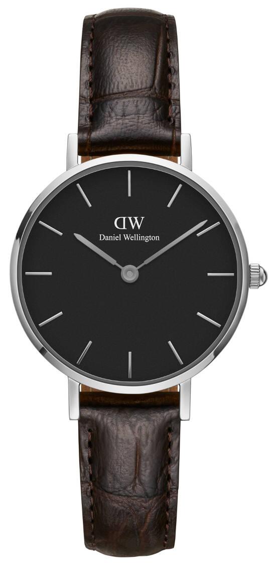 Daniel Wellington Classic Petite York Silver Black 28mm DW00100238