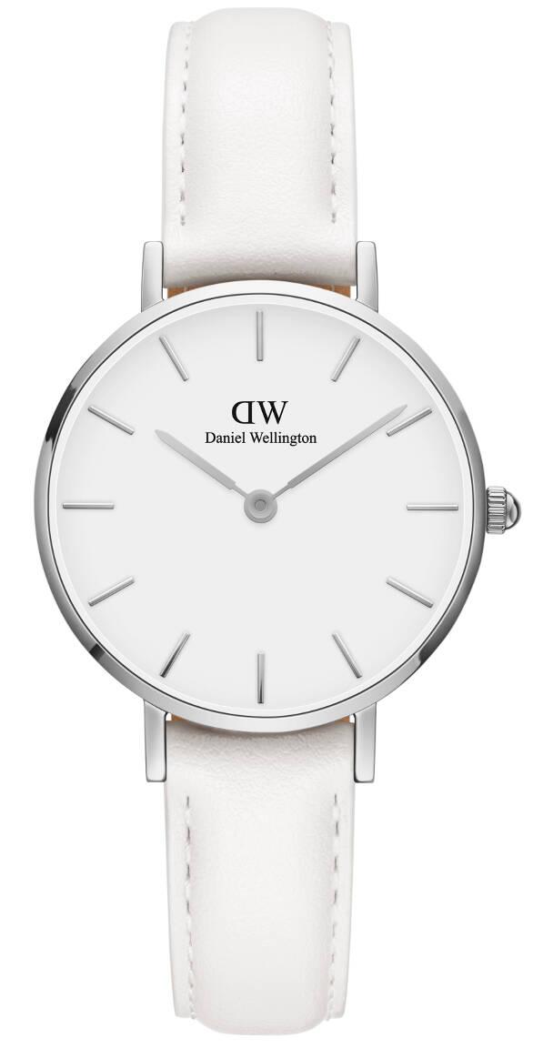 Daniel Wellington Petite Bondi Silver White 28mm DW00100250