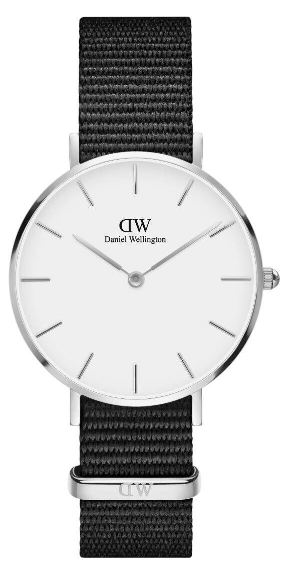 Daniel Wellington Petite Cornwall Silver White 32mm DW00100254
