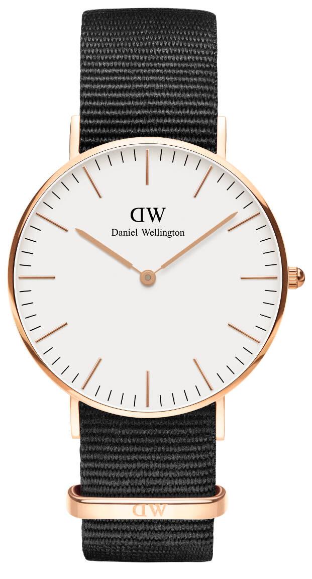 Daniel Wellington Petite Cornwall Rose White 36mm DW00100259