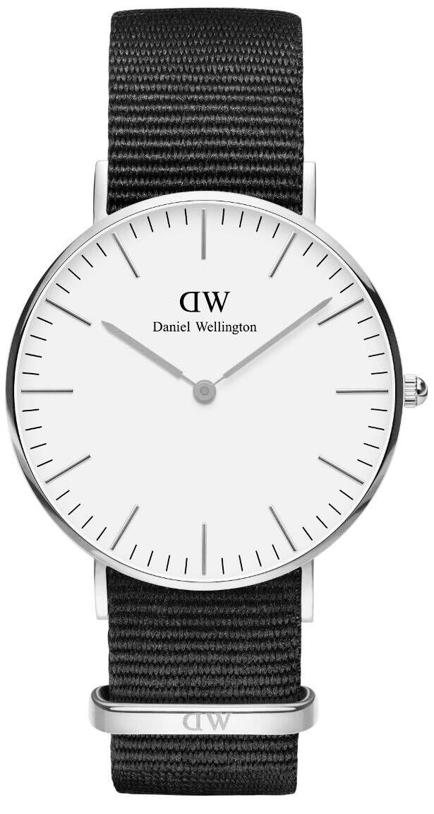 Daniel Wellington Petite Cornwall Silver White 36mm DW00100260