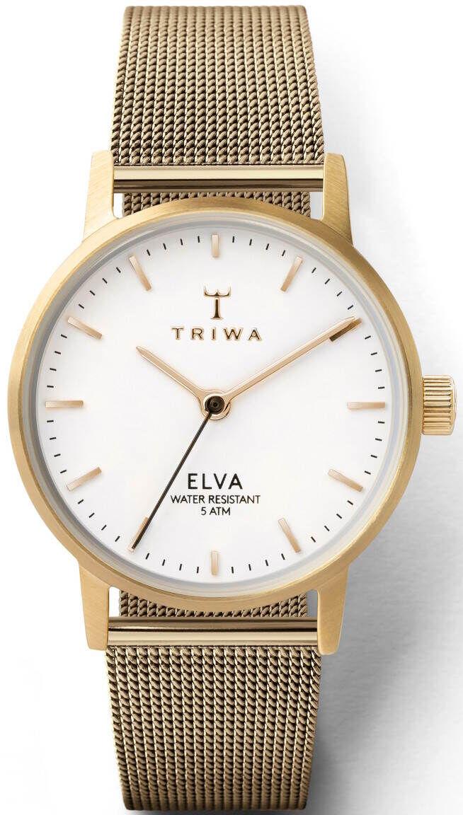Triwa Ivory Elva Petite Gold ELST103-EM021313
