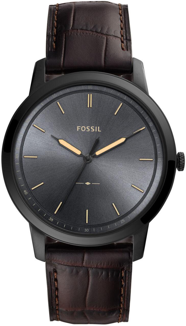 Fossil Minimalist Brown leather FS5573