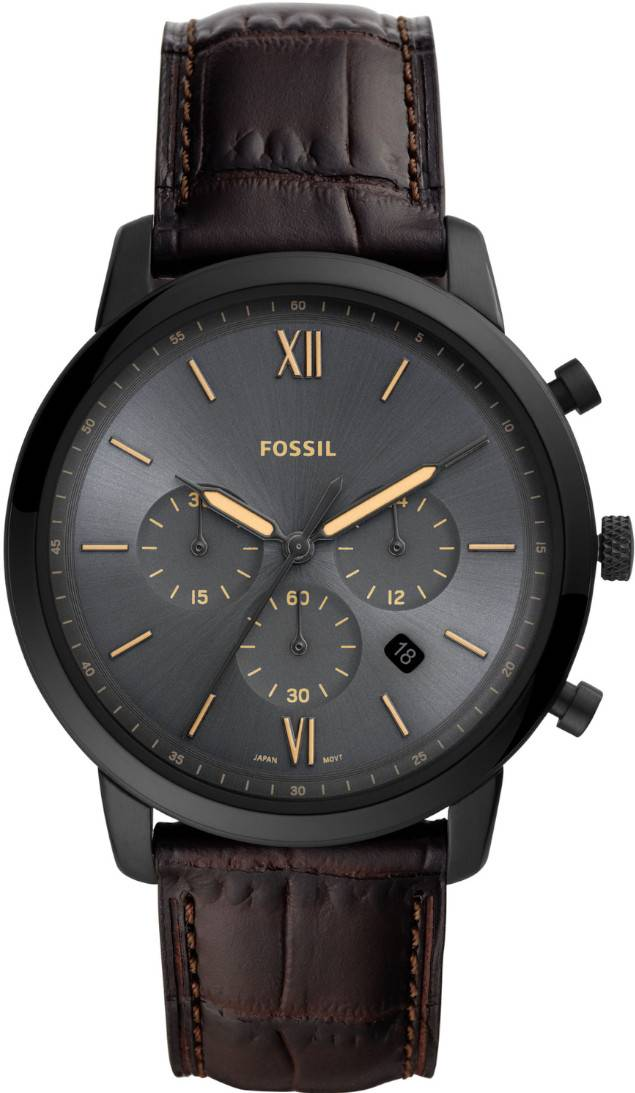 Fossil Neutra Chronograph Dark brown FS5579