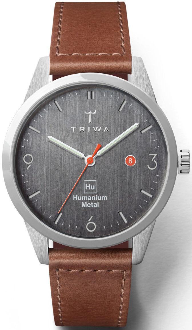 Triwa Humanium Metal Brown Sewn Classic HU39D-SC010212