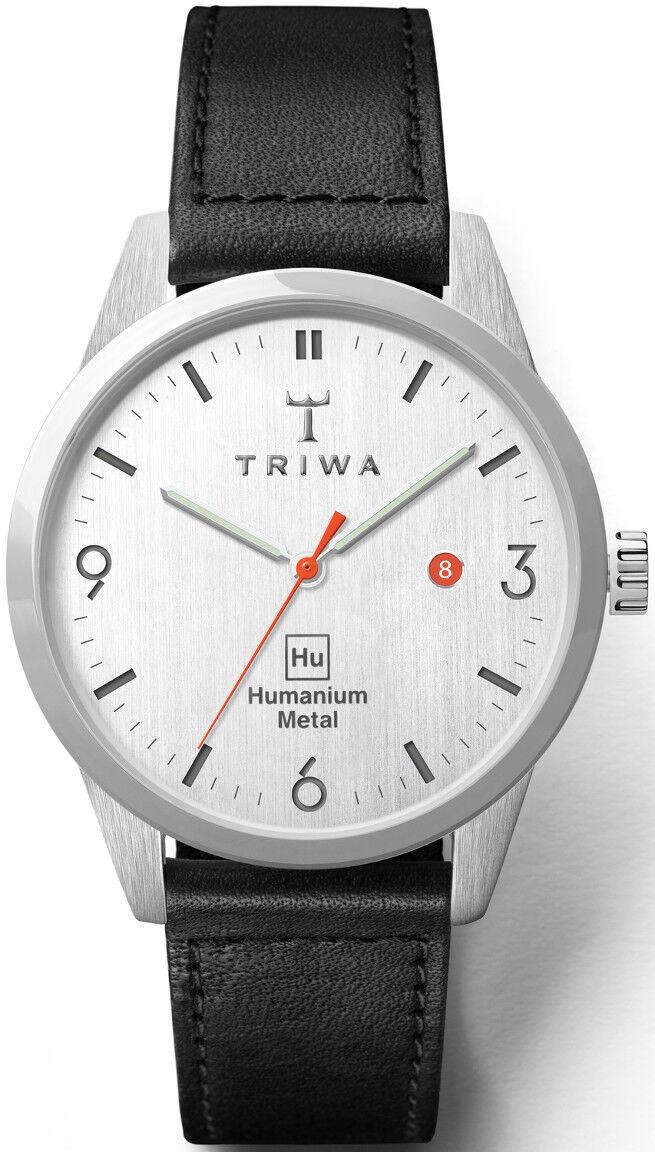 Triwa Humanium Metal Black Sewn Classic HU39L-SC010112