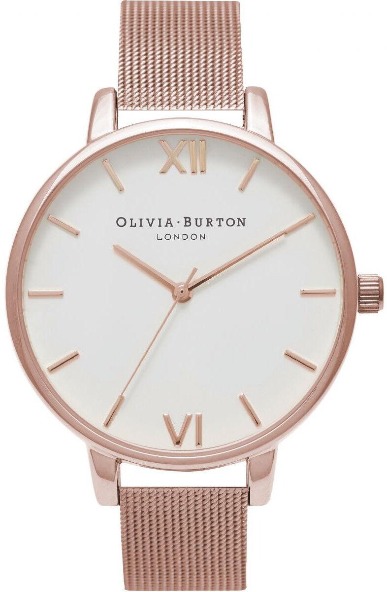 Olivia Burton Big Dial Rose Gold Mesh OB15BD79