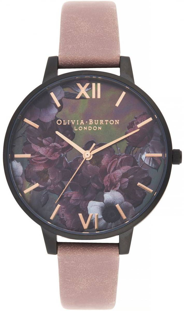 Olivia Burton After Dark Big Dial Watch with Black Mother-Of-Pearl OB16AD38