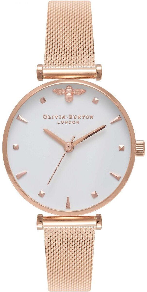 Olivia Burton Rose Gold Mesh OB16AM105