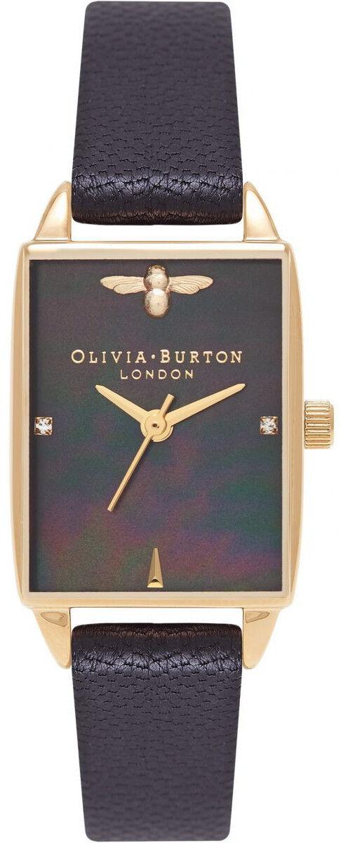 Olivia Burton Bee Hive Black Mother of Pearl, Black & Gold OB16BH02