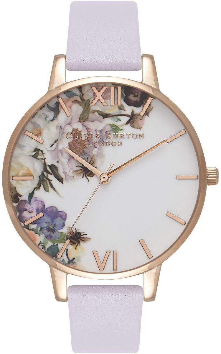 Olivia Burton Enchanted Garden Parma Violet & Rose Gold OB16EG110