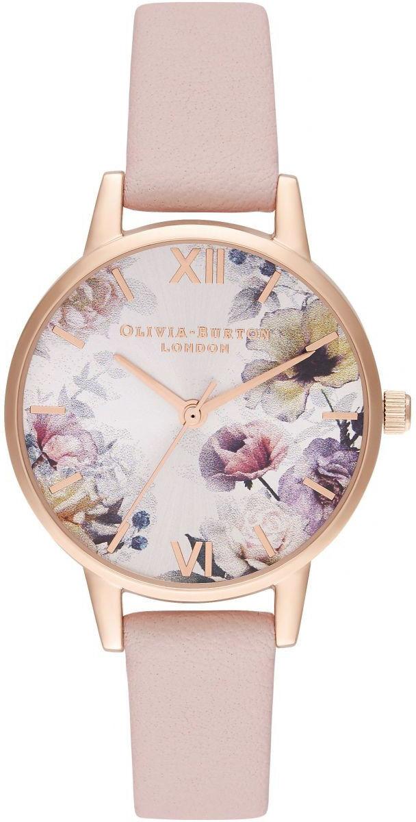 Olivia Burton Sunlight Florals Dusty Pink & Rose Gold OB16EG115