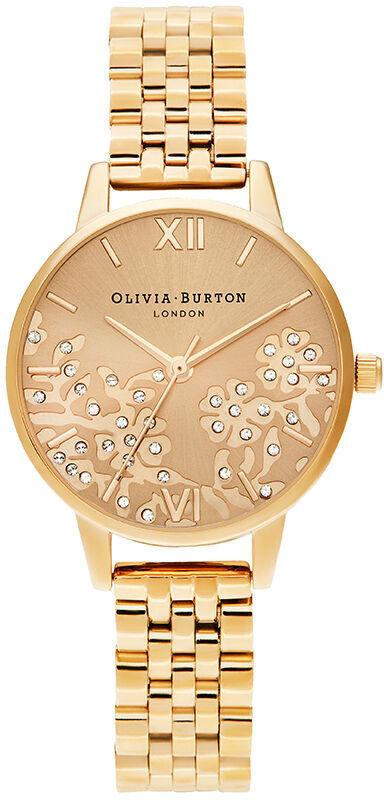 Olivia Burton Bejewelled Lace Gold Bracelet OB16MV105