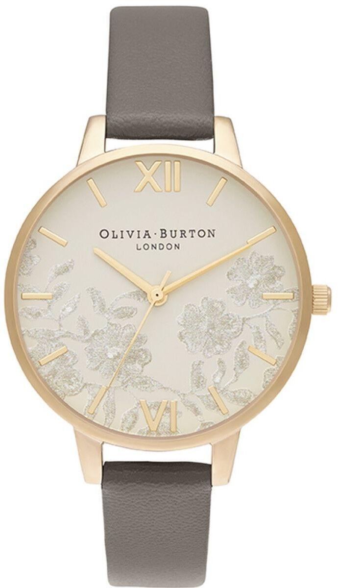 Olivia Burton Demi Nude Dial Vegan London Grey & Gold OB16MV98