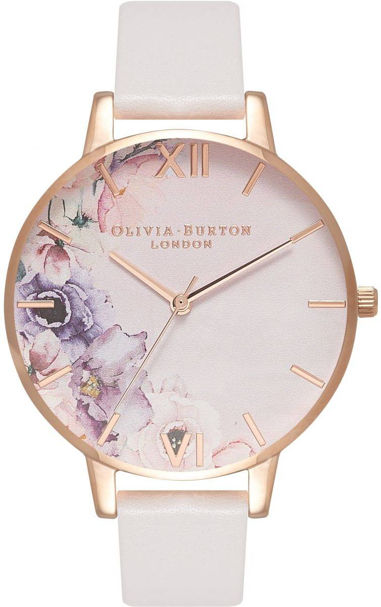 Olivia Burton Watercolour Florals Blush & Rose Gold OB16PP31