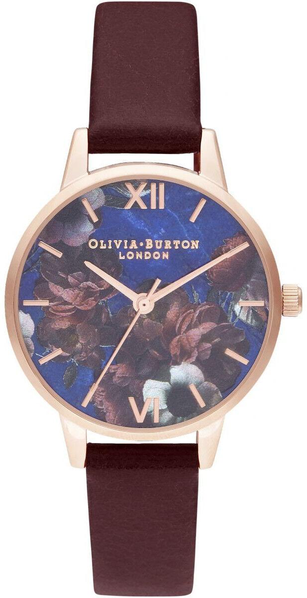Olivia Burton Midi Lapis Lazuli & Burgundy OB16SP10