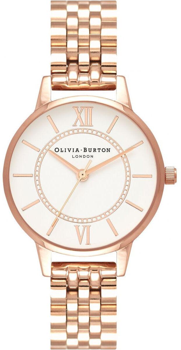 Olivia Burton Wonderland Bracelet, Rose Gold OB16WD70