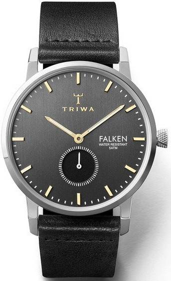 Triwa FAST119 Smoky Falken Black Classic Silver
