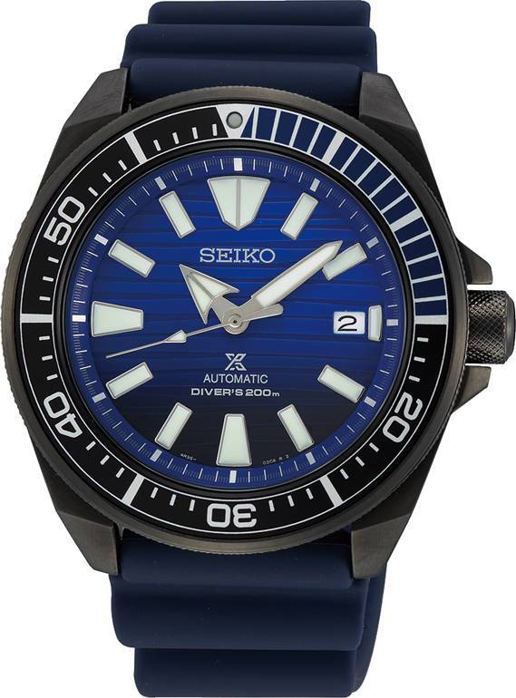 Seiko Prospex SRPD09K1 Save the Ocean Black Series Samurai