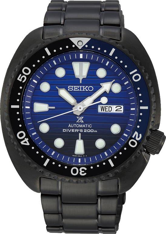 Seiko Prospex SRPD11K1 Save the Ocean Black Series Turtle