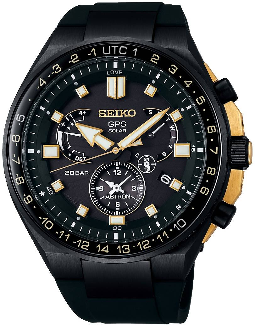 Seiko Astron GPS SSE174J1 Dual Time Novak Djokovic Limited Edition