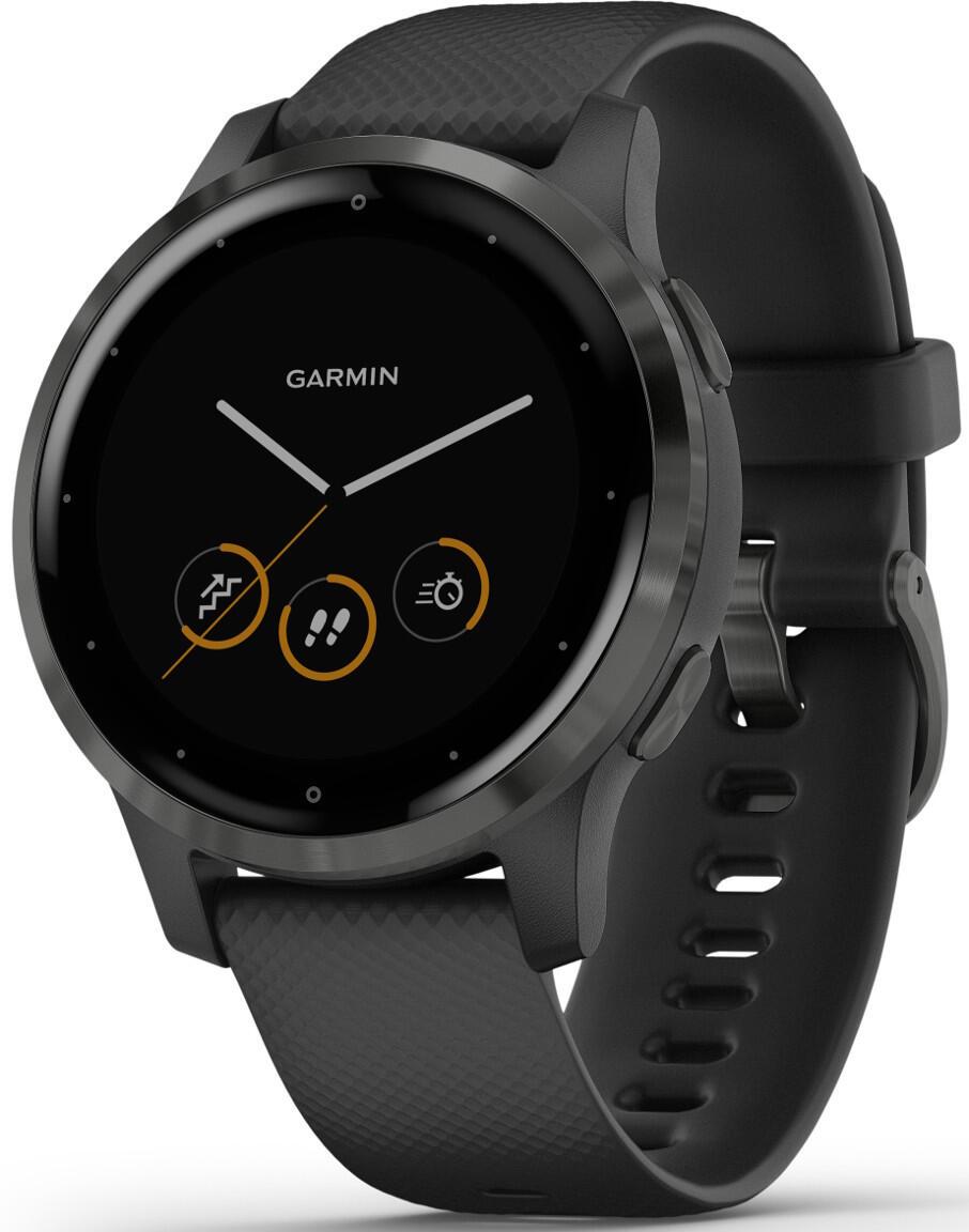 Image of Garmin Vivoactive 4S PVD Black and Slate GPS-älykello 010-02172-12