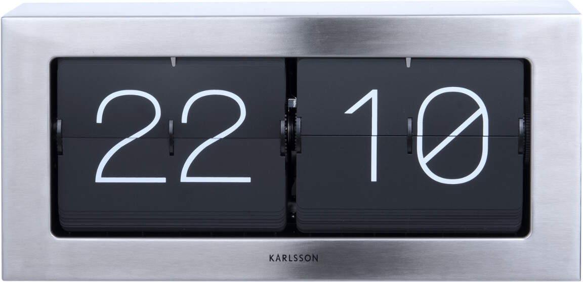 Karlsson Boxed KA5642ST seinä-/pöytäkello 17,5x37cm