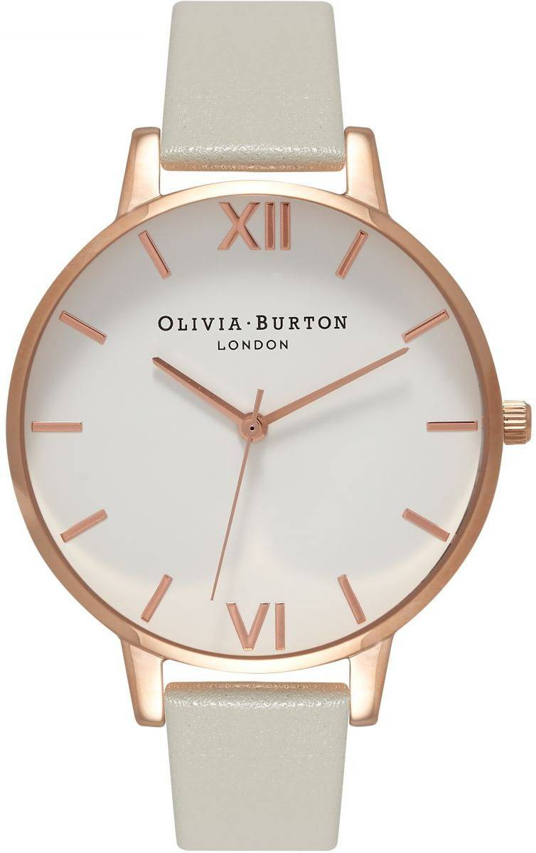 Olivia Burton Big Dial Grey & Rose Gold OB15BDW02