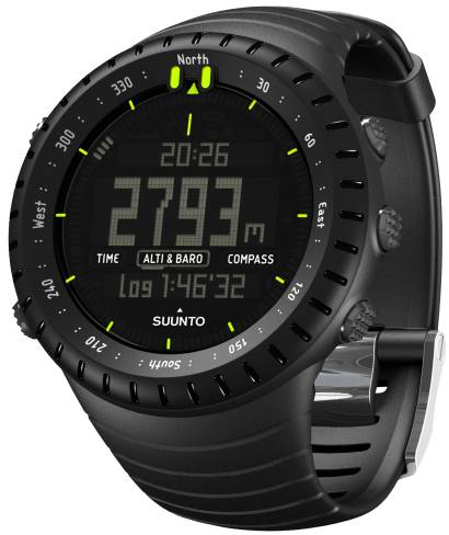 Suunto Core All Black rannetietokone