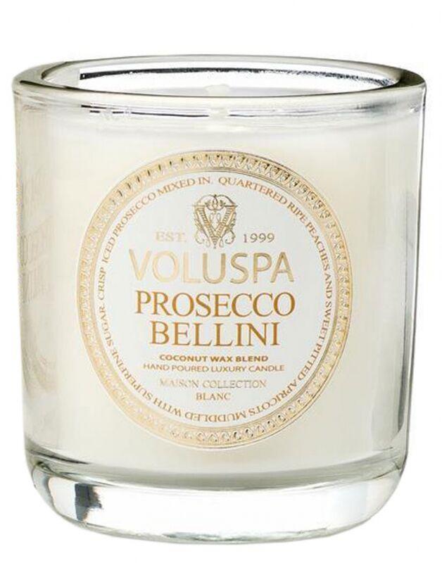 Voluspa Classic Maison Boxed Votive Candle Prosecco Bellini