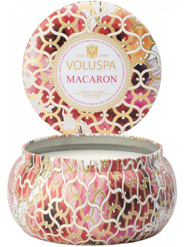 Voluspa 2 Wick Maison Metallo Candle Macaron