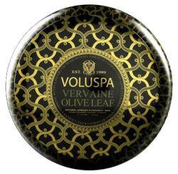 Voluspa 2 Wick Metallo Candle Vervaine Olive Leaf