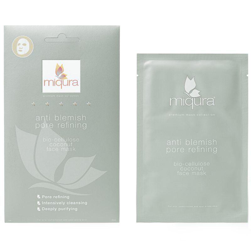 Miqura Anti Blemish Pore Refining Sheet Mask 1 Pair