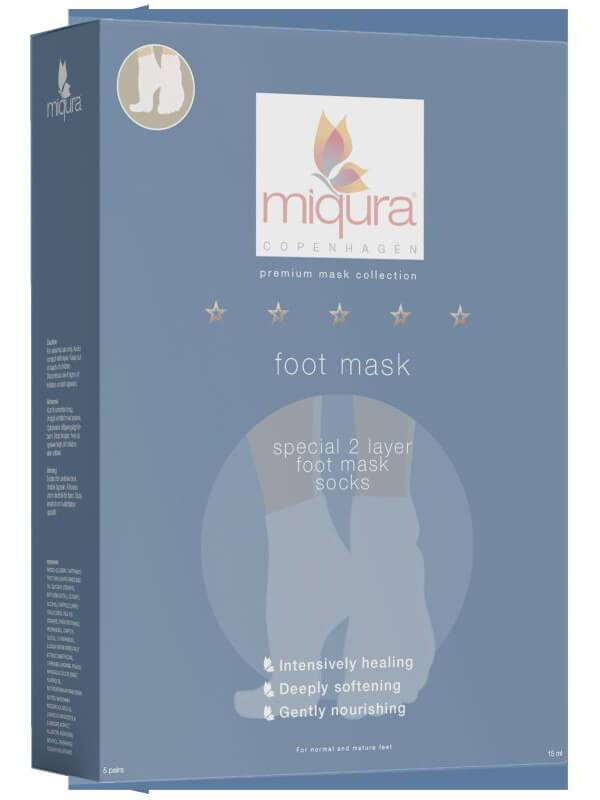 "Miqura ""Miqura Foot Mask 5 Pair"""