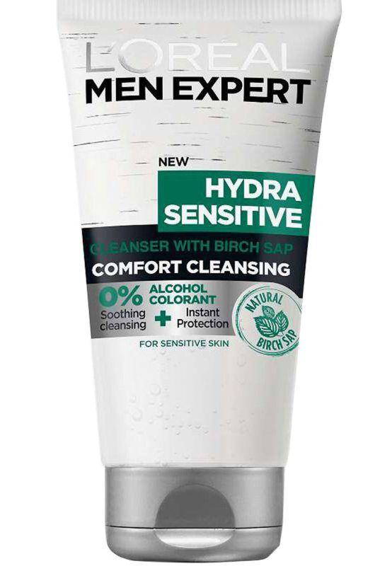 LOréal Men Expert Hydra Sensitive Wash (150ml)