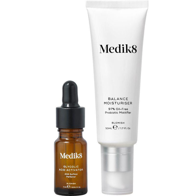 Medik8 Balance Moisturiser With Glycolic Acid Activator (50+10ml)