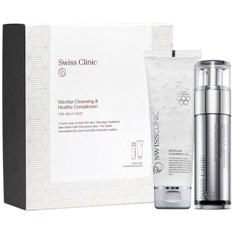 """Swiss Clinic """"Swiss Clinic The Daily Duo Gift Kit"""""""