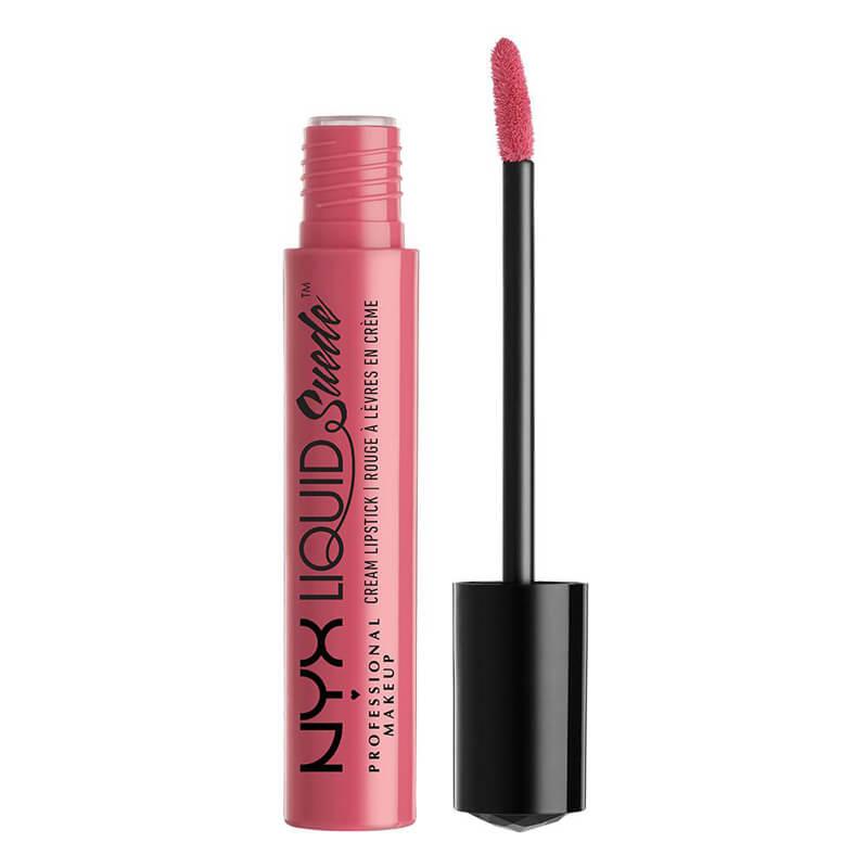 NYX Professional Makeup Liquid Suede Cream Lipstick - Tea & Cookies