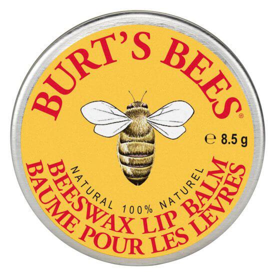 Burts Bees Lip Balm Beeswax Tin