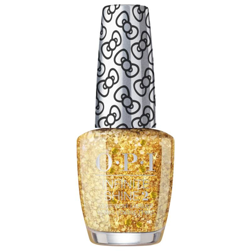 """OPI """"OPI Hello Kitty Collection Infinite Shine Glitter All The Way"""""""