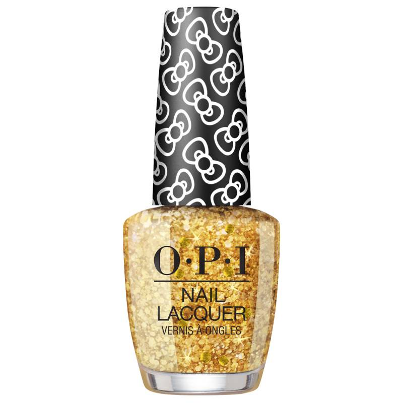 """OPI """"OPI Hello Kitty Collection Nail Lacquer Glitter All The Way"""""""
