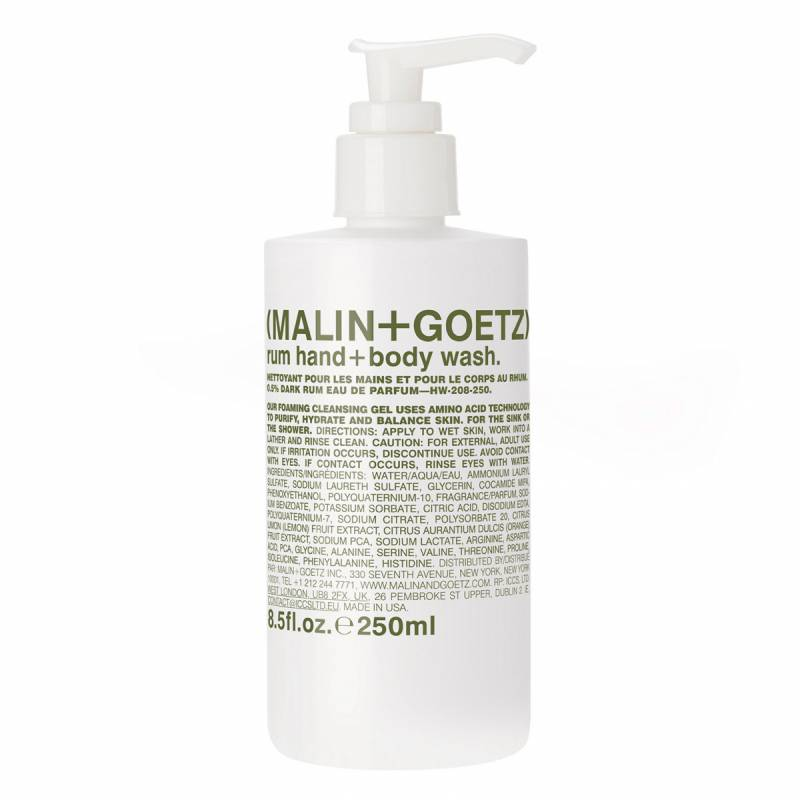 "Malin+Goetz ""Malin+Goetz Rum Hand + Body Wash (250ml)"""