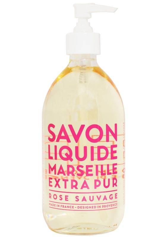 Compagnie de Provence Extra Pur Liquid Soap Wild Rose (500ml)
