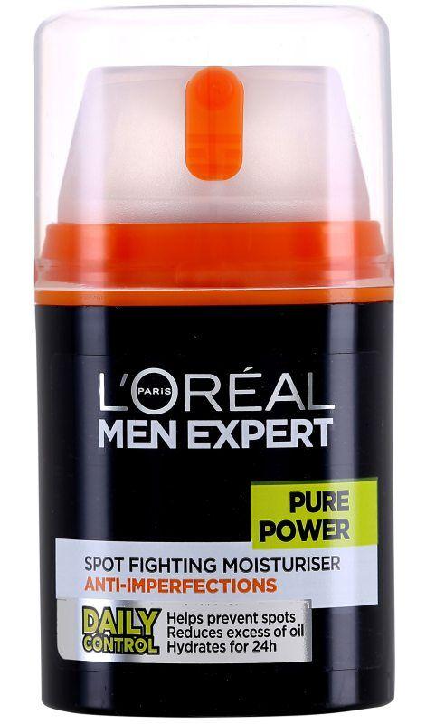 LOréal Men Expert Pure Power Treat Moisturiser Anti-breakout (50ml)