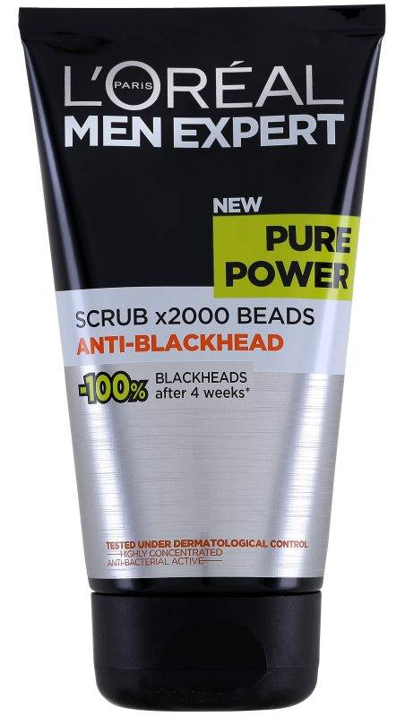 LOréal Men Expert Pure Power Anti-Blackhead Scrub (150ml)
