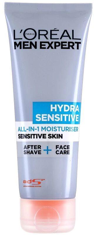 LOréal Men Expert Hydra Sensitive All In 1 Sensitive Moisturiser (75ml)